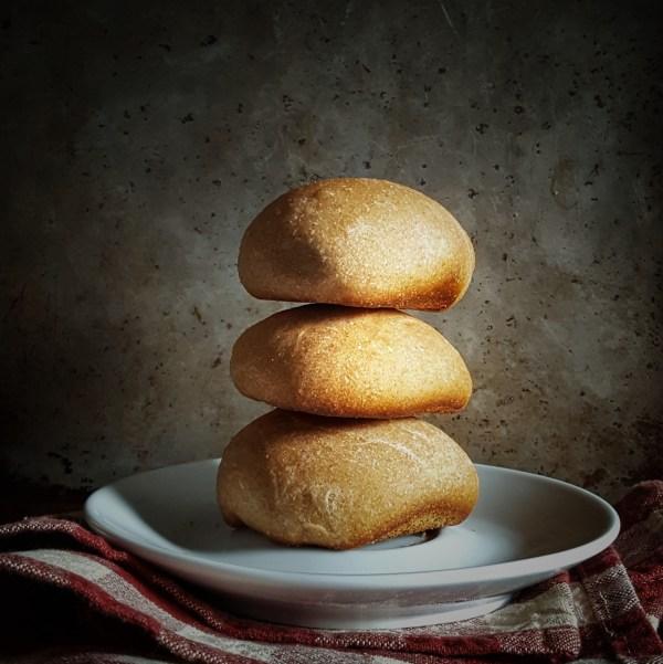 Slightly Sweet Wheat Rolls