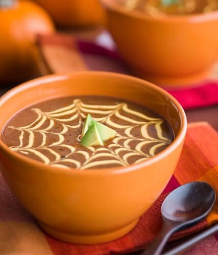 Black Bean Pumpkin Soup