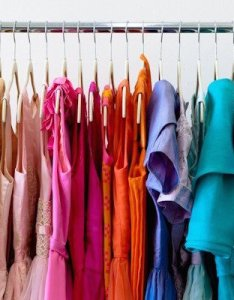 Color coding the closet  an organizer  secret weapon also organizers rh simplyspaced