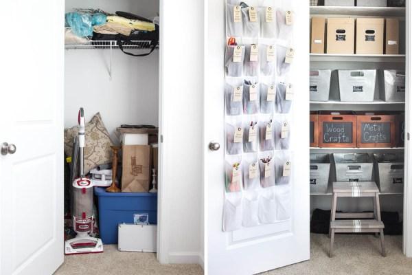Small Utility Closet Organization Ideas