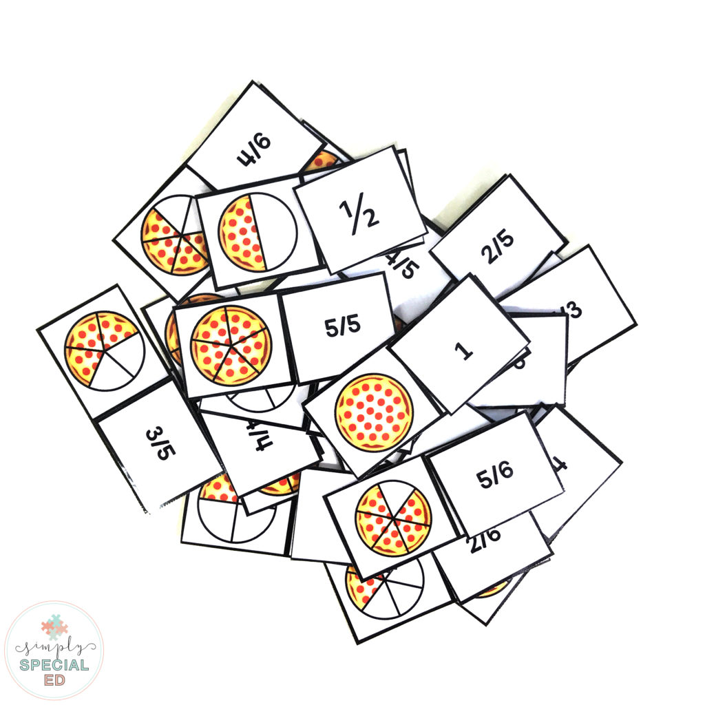 Free Pizza Fractions