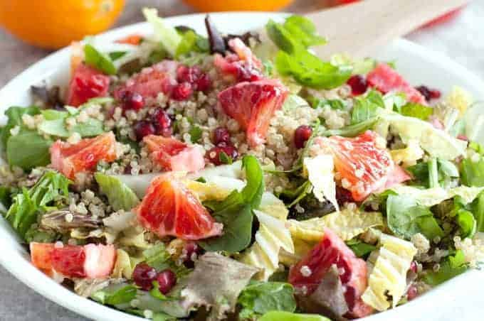 Winter Detox Salad by Simply Stacie