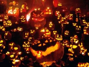 Halloween pumpkin jack o lanterns