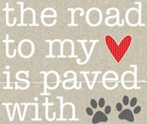 dog stamp love