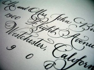 laura hooper handwritten calligraphy