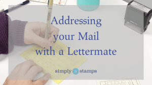Address Mail with Lettermate