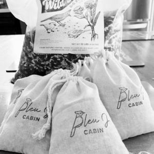 custom stamped bags from @thebleuj