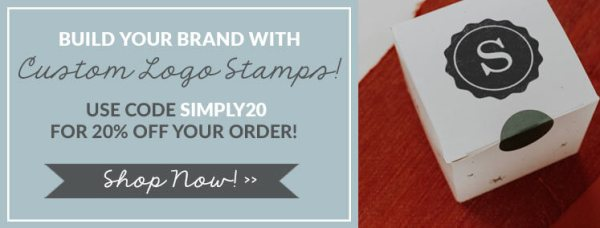 build your brand with custom logo stamps