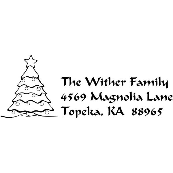 christmas tree custom return