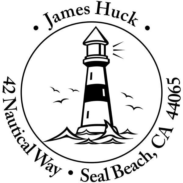 island lighthouse round return