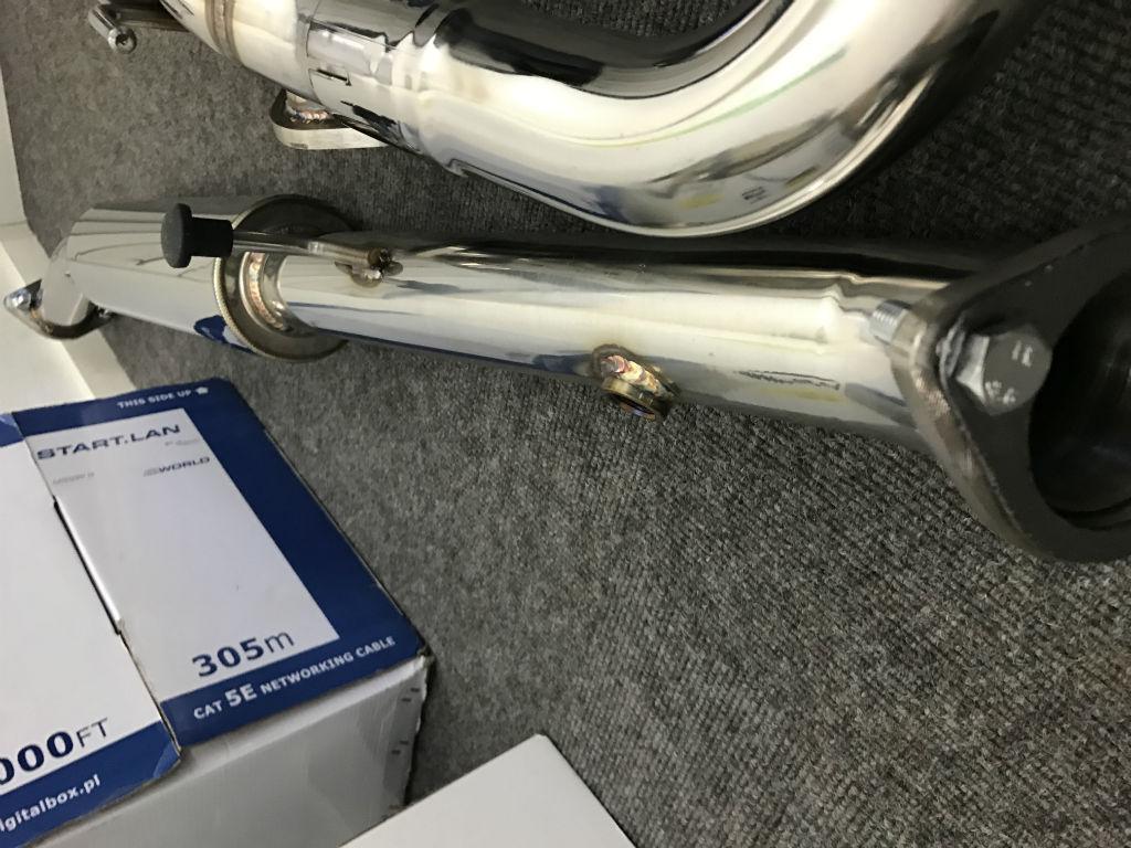 Cobalt dual tip exhaust
