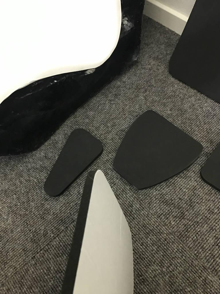 polyester GRP Sport Bucket seats