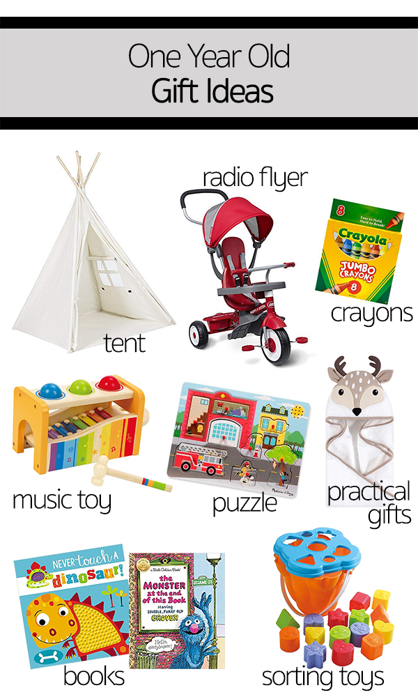 One Year Old Gift Ideas This For ABs Birthday We Focused More On Celebrating With Friends And Family Than Gifts But Of Course Had Requests