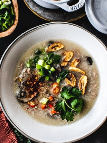 Thai Chicken Rice Soup Recipe