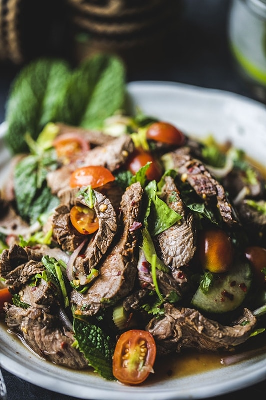 Easy Thai beef salad recipe