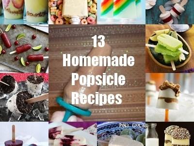 13 Homemade Popsicles