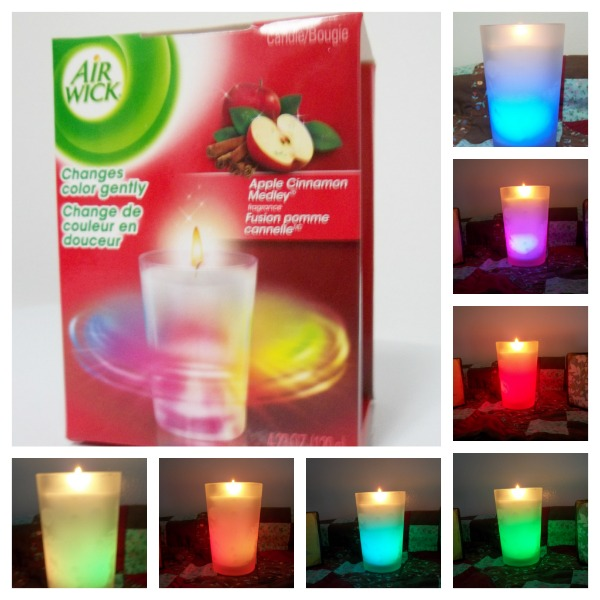 airwick color changing candle review and giveaway simply