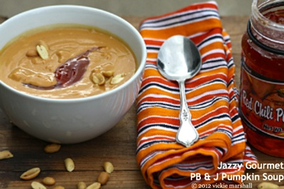PBandJ Pumpkin Soup