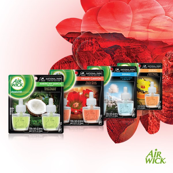 Airwick National Parks Fragrances