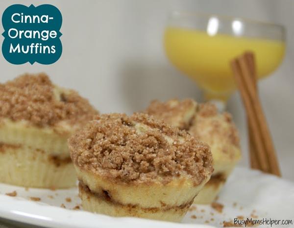 Cinna-Orange Muffins