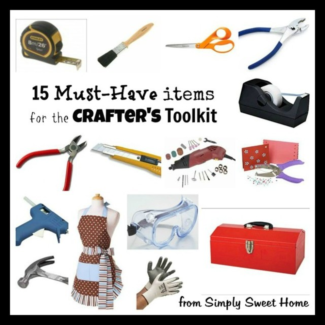 15 Crafters Tools