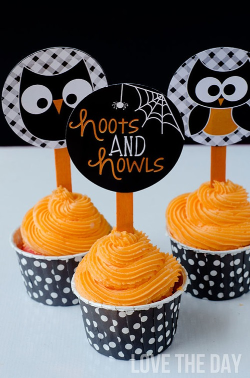 Love the Day Halloween Cupcakes