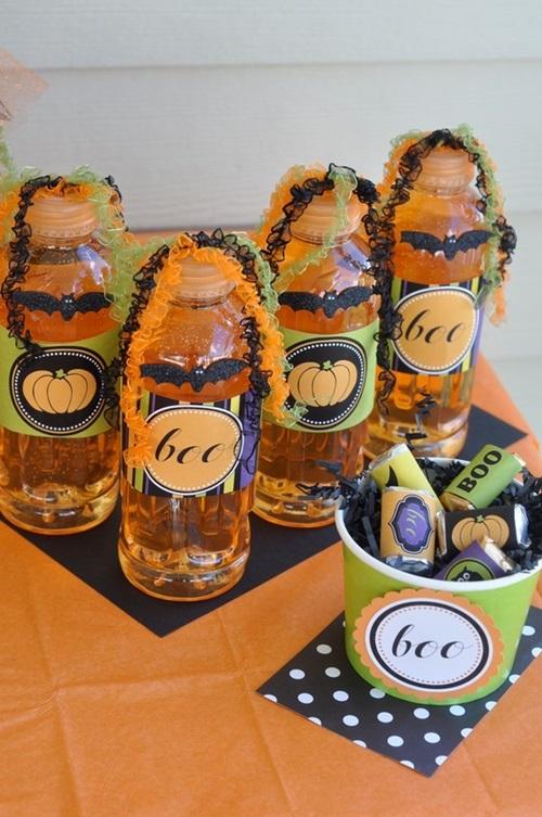 Love the day halloween bottles