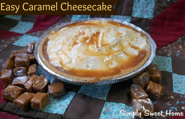 Easy Caramel Cheesecake
