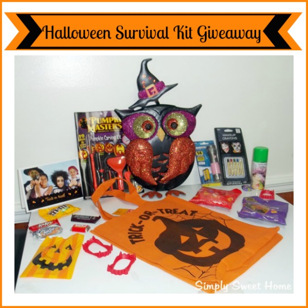 Halloween Survival Kit Giveaway