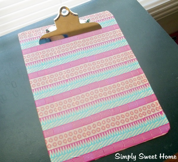 Washi Clipboard