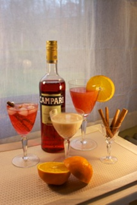Campari Cocktails- With Campari- simple living and eating