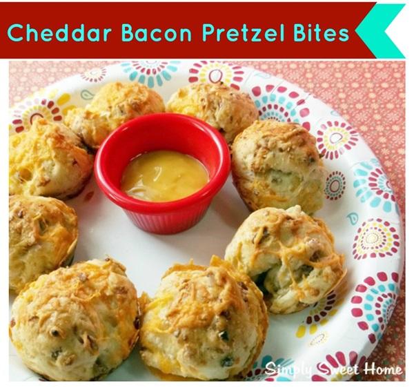 Cheddar Bacon Pretzel Snacks