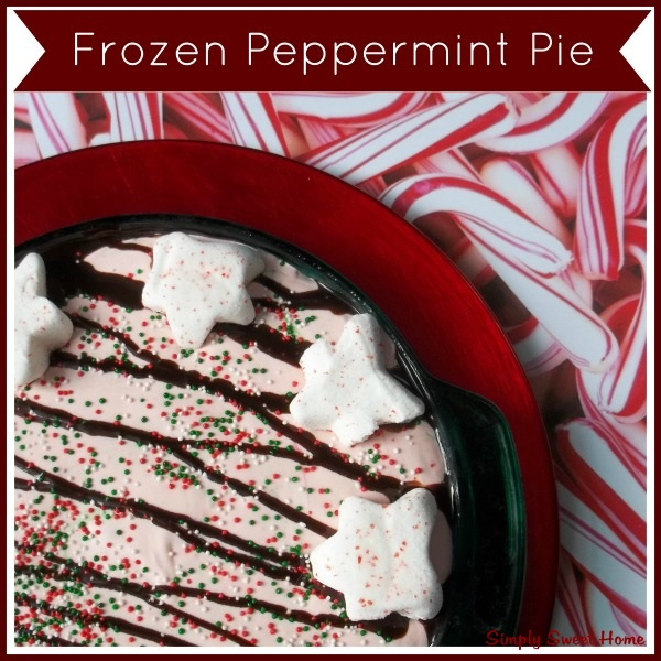 Frozen Peppermint Pies