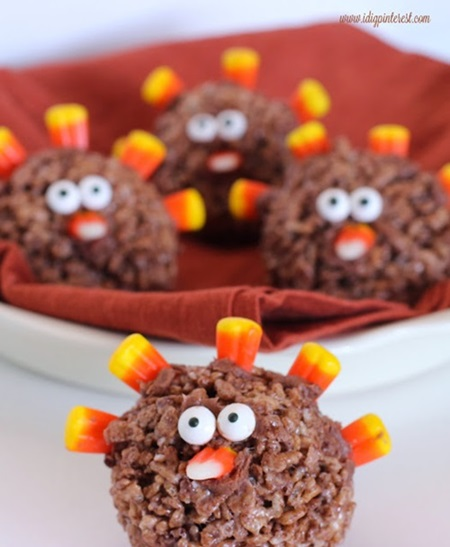 Turkey Krispies Treats
