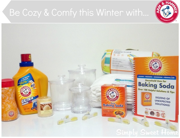 Cozy and Comfy with Arm and Hammer