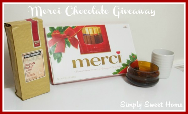 Merci Chocolate Review & Giveaway - Simply Sweet Home