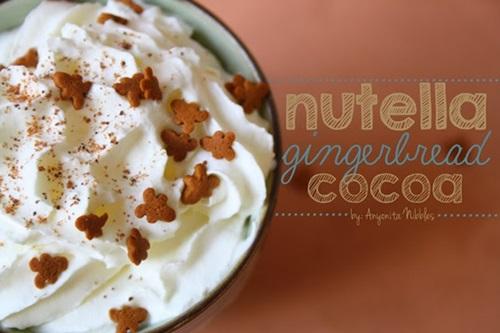 Nutella Gingerbread Cocoa