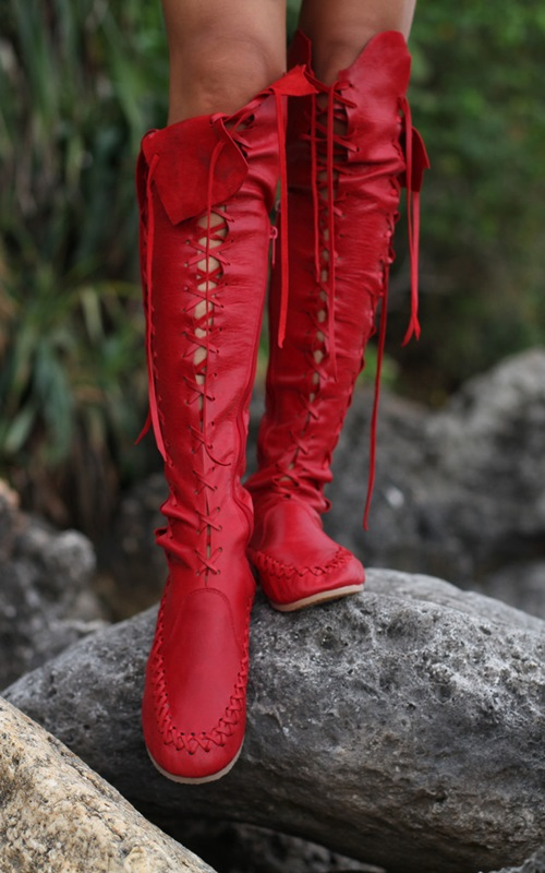 Gypsy Dharma Red Boots