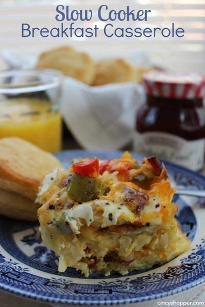 Slow Cooker Breakfast Casserole
