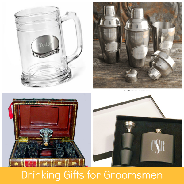 Drinking Gifts for Groomsmen