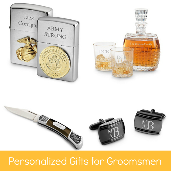 Personalized Gifts for Groomsmen