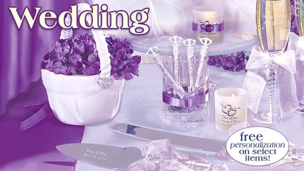 Wedding at Oriental rading