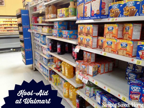 Kool-Aid at Walmart