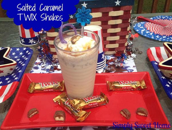 Salted Caramel Twix Shake