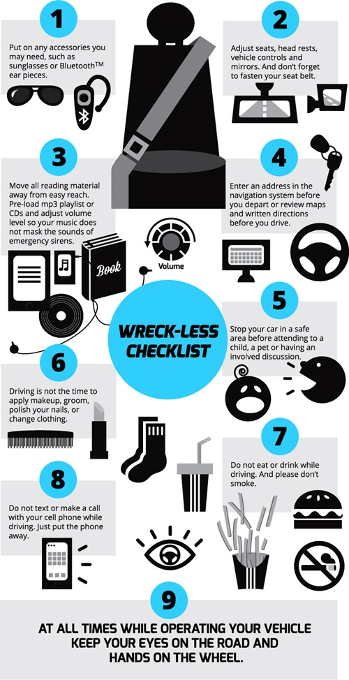 Wreck-Less Checklist