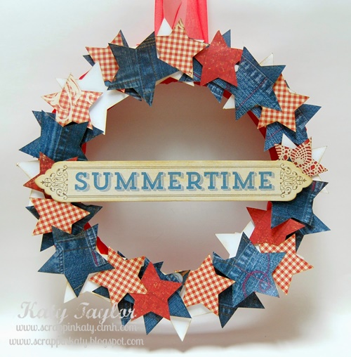 4th of July Wreath 2