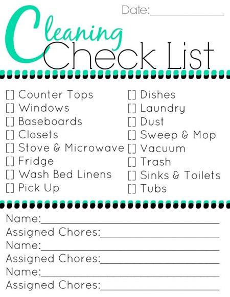 Chore List