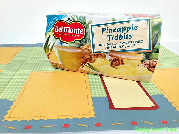 Del Monte Pineapple Tidbits