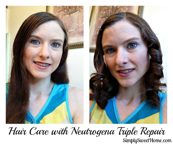 Hair Care with Neutrogena Triple Repair