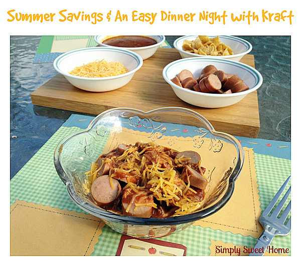 Summer Savings and An Easy Dinner Night With Kraft